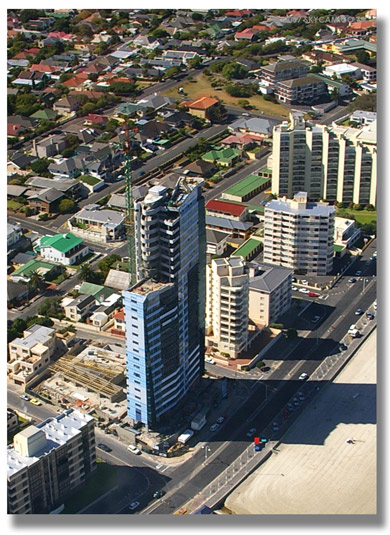 Waterproofinng of multi level                             residential buildings - Topaz Strand South                             Africa